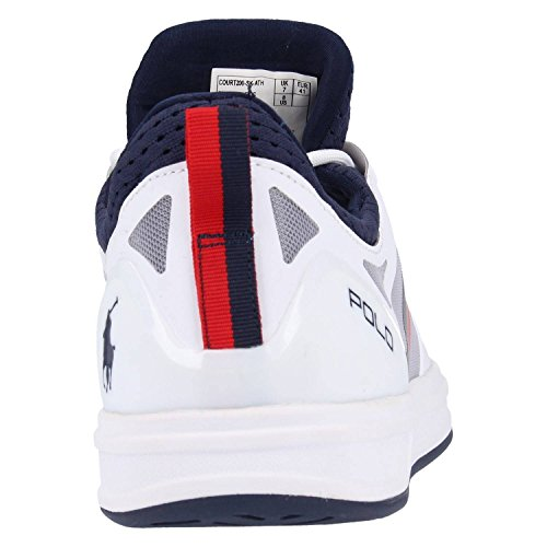 Ralph Lauren Baskets 809-669837-007 COURT200 Blanc