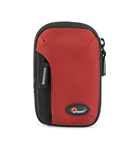 Lowepro Tahoe 10 red, LP36321 (Pouch with Front Pocket and Zipper for compact Camera. Size (int.): 7