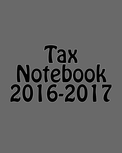 Tax Notebook 2016-2017