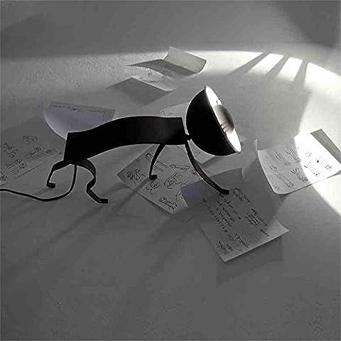 MILUCE art créatif moderne et de la mode en fer forgé hôtel charmant Chat chanceux lampe de table Salon salle à manger den chambre chevet café lampe de table