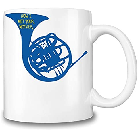 HIMYM Blue Horn Poster Taza