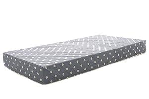 Milliard 12.5cm Hypoallergenic Foam Cot Bed Mattress/Junior Crib Mattress