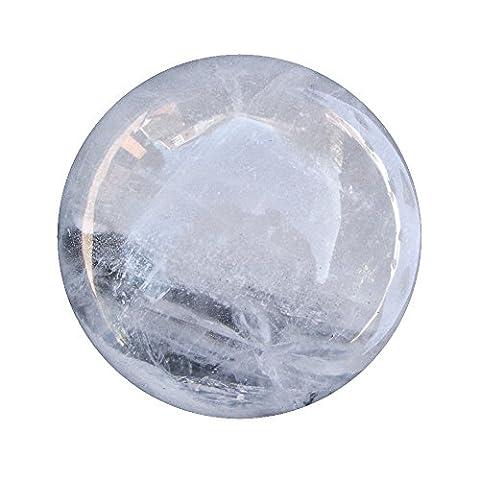 Roche à quartz Boule de cristal débutants Divinatoire Fortune Globe Sphère 61mm 320g Cb17