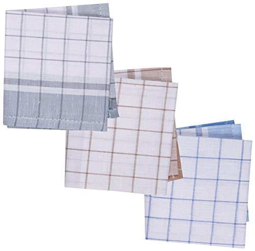 Reddington Gentleman's Cotton handkerchief - Pack of 3 (Multi-Coloured)  available at amazon for Rs.125