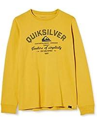 Quiksilver Creators of Simplicity - Camiseta de Manga Larga para Niños 8-16 Camiseta De Manga Larga Niños