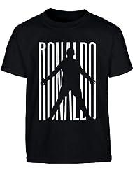 Maglietta Fans Ronaldo T Shirt Juventini Maglia Bambini Ragazzi T-Shirt