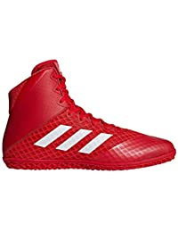 best cheap 2e1f7 cc1d1 adidas Tapis Wizard 4 Rouge Blanc Wrestling Chaussures (Ac6972) - Rouge -  Red,