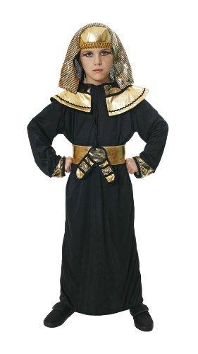 Ägyptischen Pharao Black & Gold Kostüm 7-9 (Ägyptischen Kostüm Kragen)