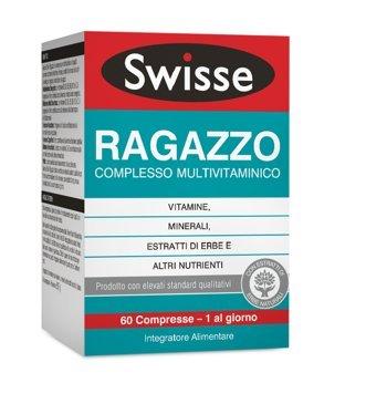 Swisse Ragazzo Multivitaminico Integratore Alimentare 60 Compresse