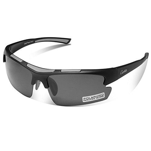 Gafas de Sol Deportivas, Carfia Gafas de Sol Deportivas Unisex Polariz