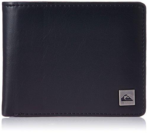 Quiksilver Portafogli da uomo Slim Style Wallet, Uomo, Geldbörse Slim Style Wallet, grigio, L