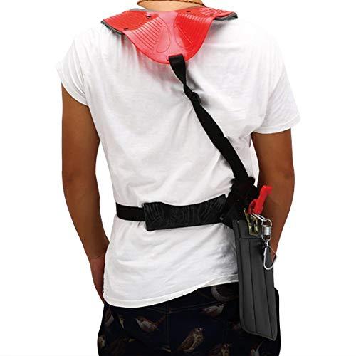 Strap Harness Belt Doppelter Schultergurt Gepolsterter Strimmer Freischneider Werkzeug
