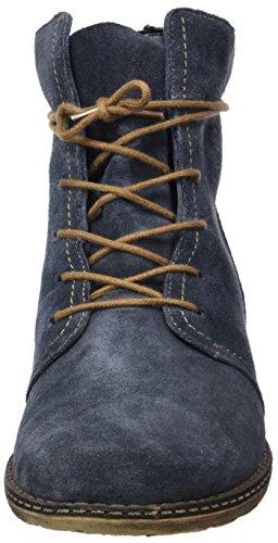 Remonte Damen D4388 Combat Boots Blau (Lake/Pazifik)