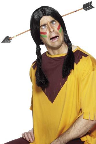 Smiffys Unisex Pfeil durch den Kopf Scherzartikel, One Size, Gelb, 97144 (Bogen Machen Pfeil Kostüm)