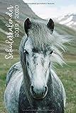 Schülerkalender 2019/2020: Kalender mit weißem Pferd für Schülerinnen und Schüler / Schülerplaner / Schulplaner, 105 Seiten, A5, handliches Format