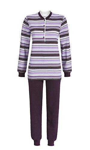 Ringella Damen Pyjama 1411240BA Pflaume