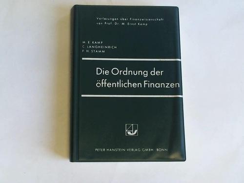 Die Ordnung der öffentlichen Finanzen. Zugleich dritte Auflage des ersten Teiles, Kapitel 1 bis 3 und des zweiten Teiles, Kapitel 1 von,Das optimale Finanzsystem