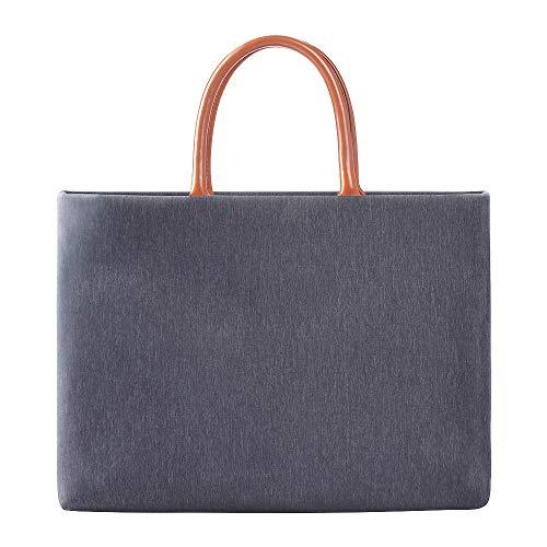 AYEN Laptop-Tasche, wasserdichte Laptop-Tasche mit multifunktionaler, tragbarer Aktentasche (13-15 Zoll universal)-Blau
