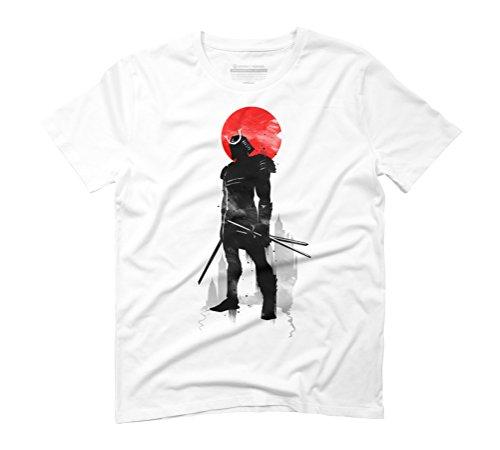 Warrior Men's Graphic T-Shirt - Design By Humans White
