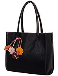 LHWY Las Mujeres de Color Caramelo Flores Bolsos Cuero Bolso
