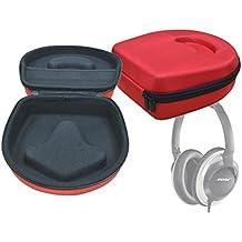 DURAGADGET Estuche / Carcasa Para Los Auriculares Bluetooth Darkiron inalámbrico | Syllable G600 - En Color Rojo - Diseño Ergonómico - Alta Calidad