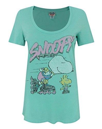 Damen - Junk Food Clothing - Snoopy - T-Shirt (S) - Snoopy Junk-food