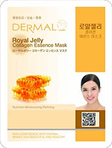 Dermal Royal Jelly Collagen Essence Mask (15 Pack)