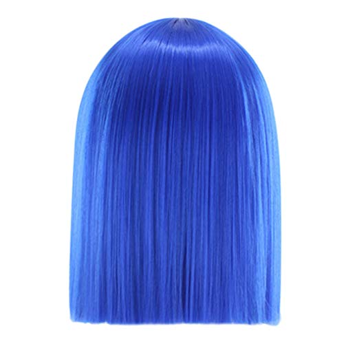 Tonsee Mode Cheveux synthetiques synthetiques courts, bruts, droit, Nature Nior