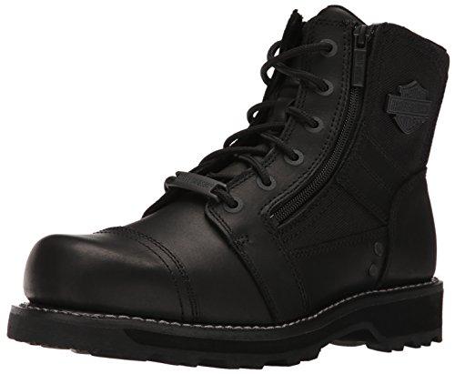 Harley Davidson Herren Bonham Leder Black Stiefel 45 EU