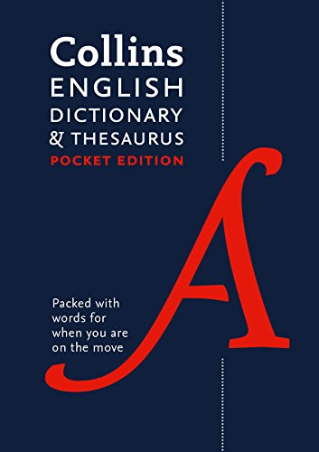 Collins English Dictionary And Thesaurus (Dictionary/Thesaurus) por Anónimo