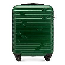 Chariot à bagages à main de WITTCHEN adapté aux compagnies aériennes ABS 54 x 39 x 23 cm 2.8 kg 38 L Vert | Les bagages à main 56-3A-391-75
