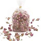 100 Gramm Rosa Rosenknospen und Rosenblätter Potpourri parfümiert Duftkissen Füllung - Rosemarie Schulz Heidelberg