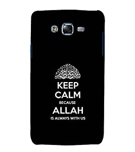 printtech Allah Muslim Quote Back Case Cover for Samsung Galaxy Grand Max G720