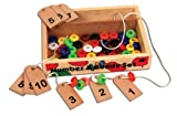 #2: Skillofun Wooden Number and Bead Set, Multi Color