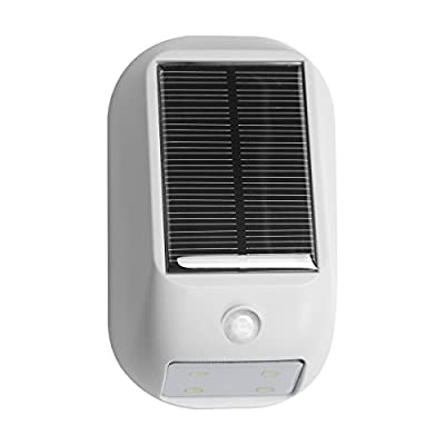 LE Solar Lights, LED Motion Sensor Light, Waterproof, Wireless Night Light, Bright 160lm LED Wall Lights, Solar PIR Light, Solar Rechargeable Light, outside wall lights - inexpensive UK light store.