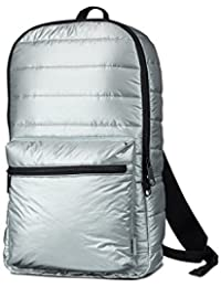 Converse Metallic Packable Backpack mochila 46 cm metallic silver colored