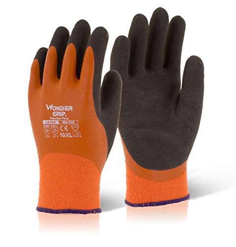 Thermo-Handschuhe Wonder Grip Thermo Plus, Orange, S