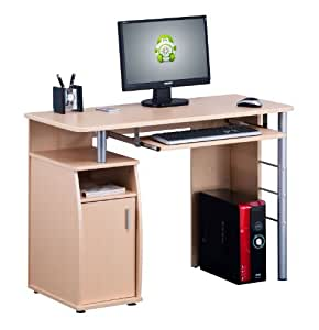 Piranha COMPUTER DESK with a Cupboard and Shelves for the Home Office New PC 1o