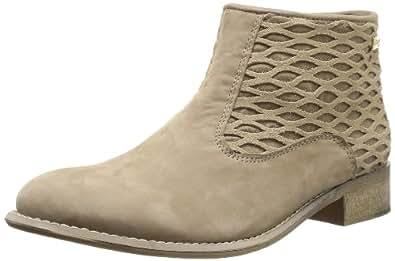 Les Tropeziennes par M. Belarbi Lolitea, Boots femme - Beige (Beige Filet), 41 EU