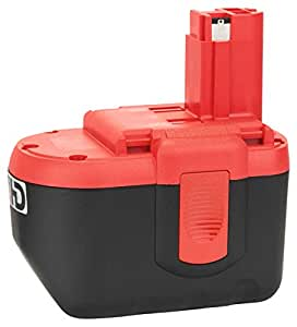 Bosch 2 607 335 448 Nickel-Cadmium (NiCd) 2400mAh 24V rechargeable battery - rechargeable batteries (2400 mAh, Nickel-Cadmium (NiCd), 24 V, Black, Red)