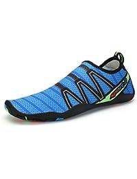 Beco - Zapatos unisex de neopreno, blau inkl. Beachbox, 45 EU