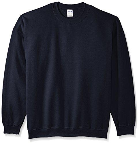 Gildan Men's Fleece Crewneck Sweatshirt Navy XX-Large