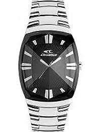 Reloj Chronotech Mujer 7065L/02M al cuarzo (batería) acero quandrante negro correa acero