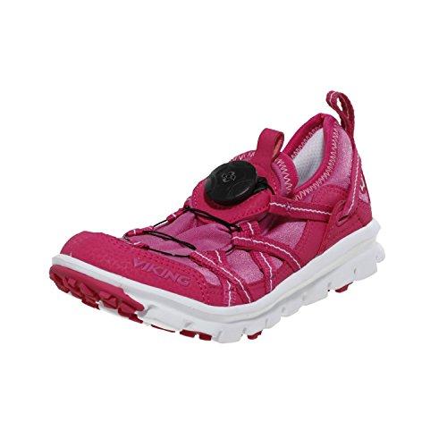 Viking Jungen Sneaker FLOM BOA Textil Pink