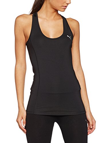 PUMA Damen Essential Layer Tank Tanktop, Puma Black, S
