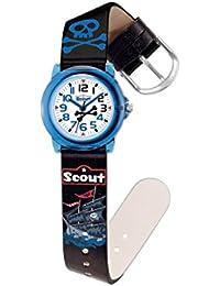 Scout Jungen-Armbanduhr Analog Quarz Kunstleder 280305016