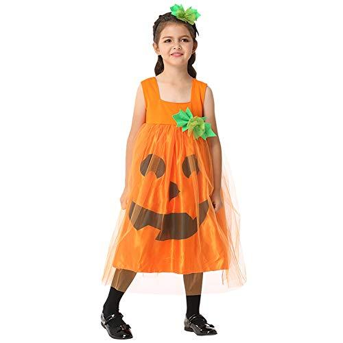 Cheerleader Machen Eine Sie Kostüm Zombie - WWJIE Halloween Kinder Zeigen Kostüme, Kürbisse, Mädchen Kleidung Cosplay Kostüm Ballkleider-L