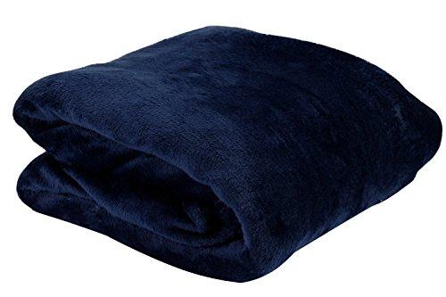 Postergaleria Decken Tagesdecke Kuscheldecke Mikrofaser 160x200 cm, eignet Sich ideal als Decke im Haus, für EIN Kind oder Tagesdecke (Türkis)