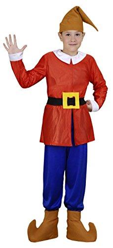 Imagen de disfraz de enanito rojo infantil 7 9 años