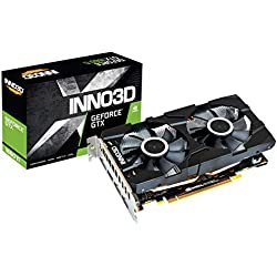 Inno3D NVIDIA Gaming GeForce GTX 1660 TI Twin X2 6GB GDDR6 Graphic Card